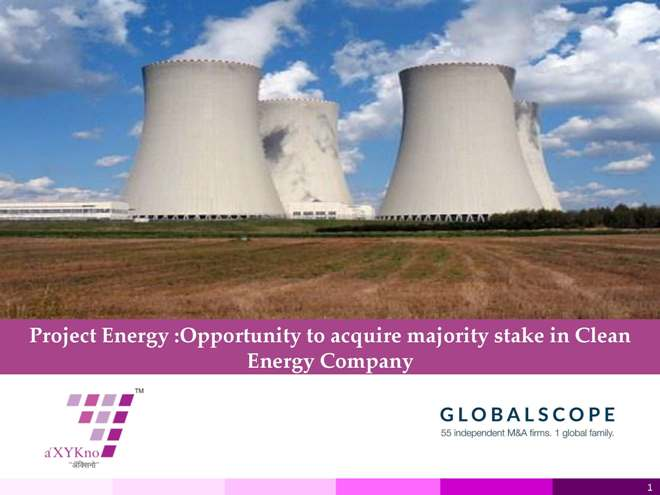 Opportunity to invest in Clean Energy Company