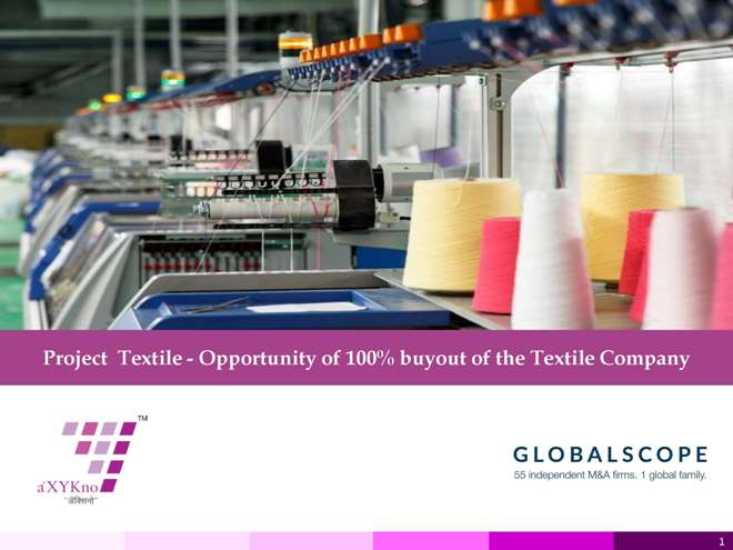 Opportunity to invest in Textile Company
